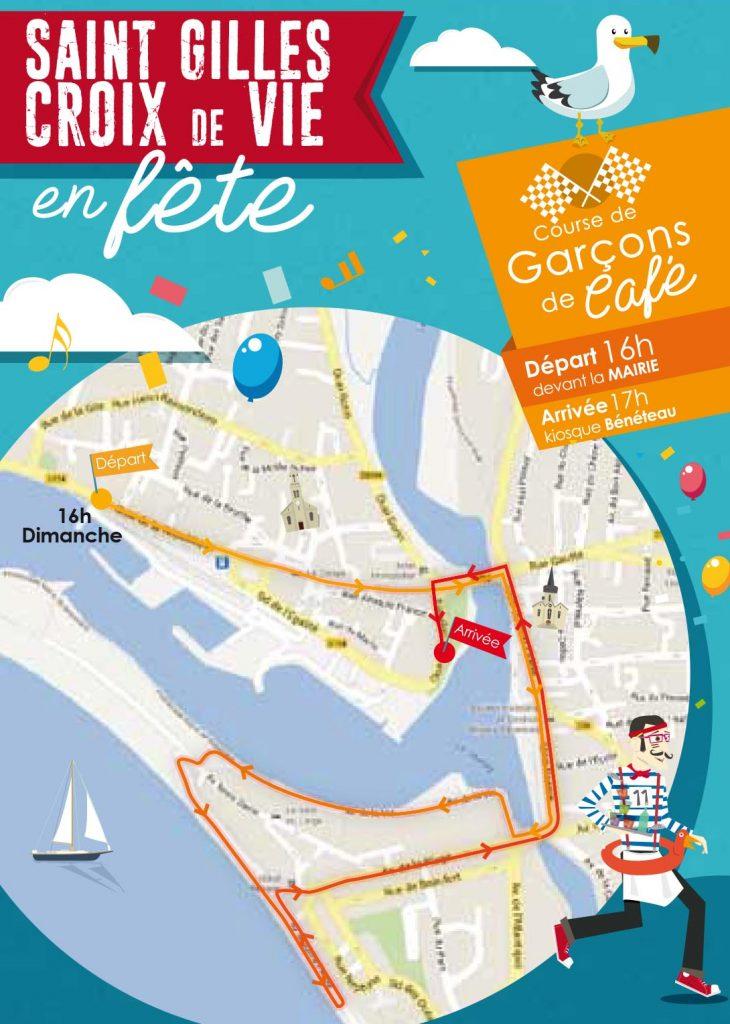 Course des garçons de café - Saint Gilles Croix de Vie en Fête