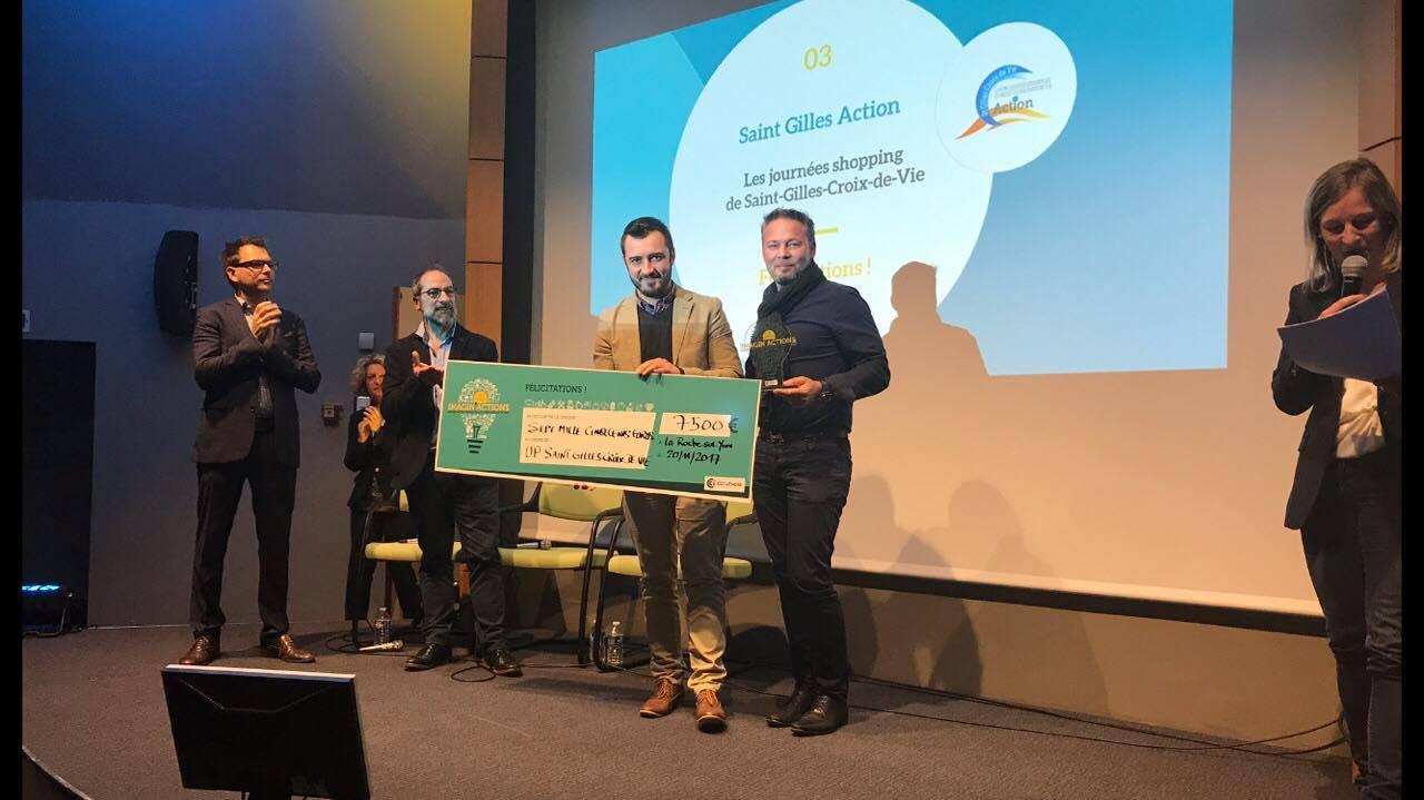 Remise du prix Imagin'Actions - Professionnels de Saint Gilles
